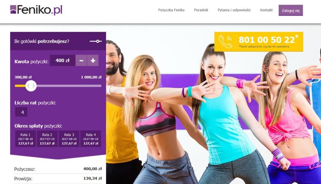 feniko pożyczka internet online